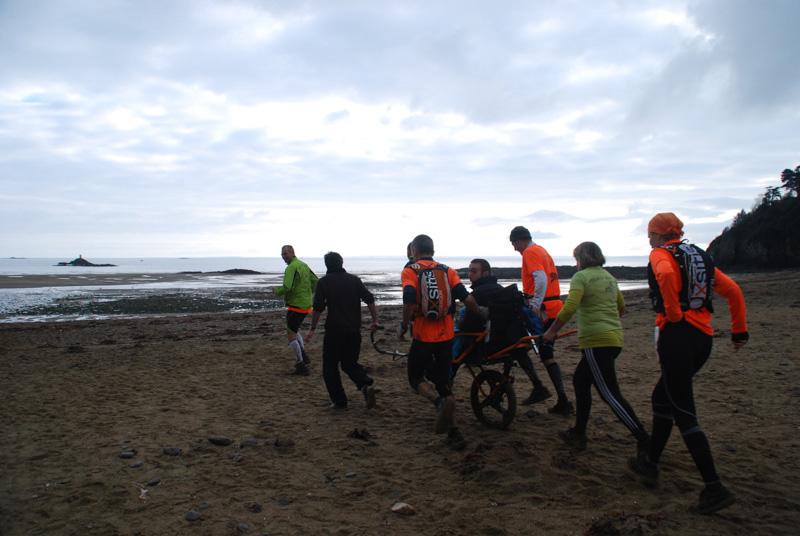 L'association Courir-avec sur le Trail Glazig 2015