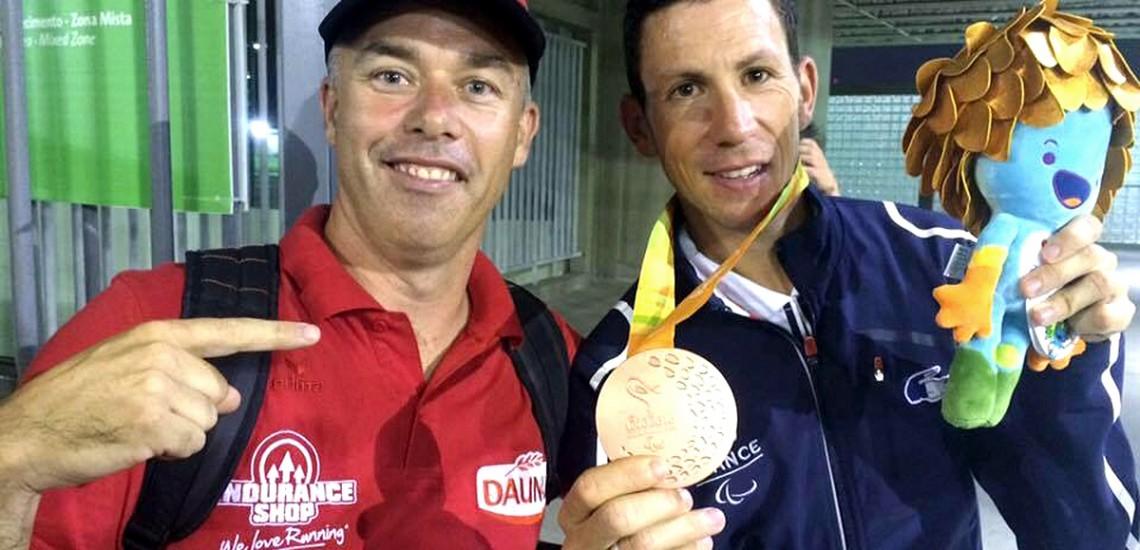 Daunat partenaire du Trail Glazig et de l'athlète Louis Radius