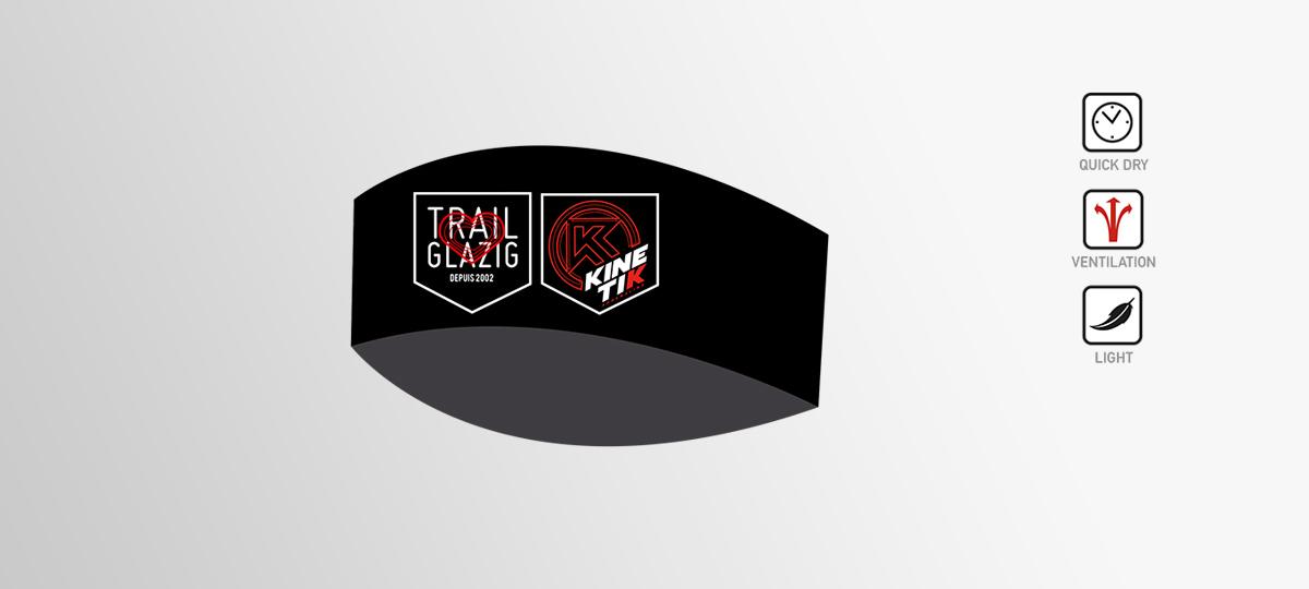 bandeau running Trail Glazig par Kinetik