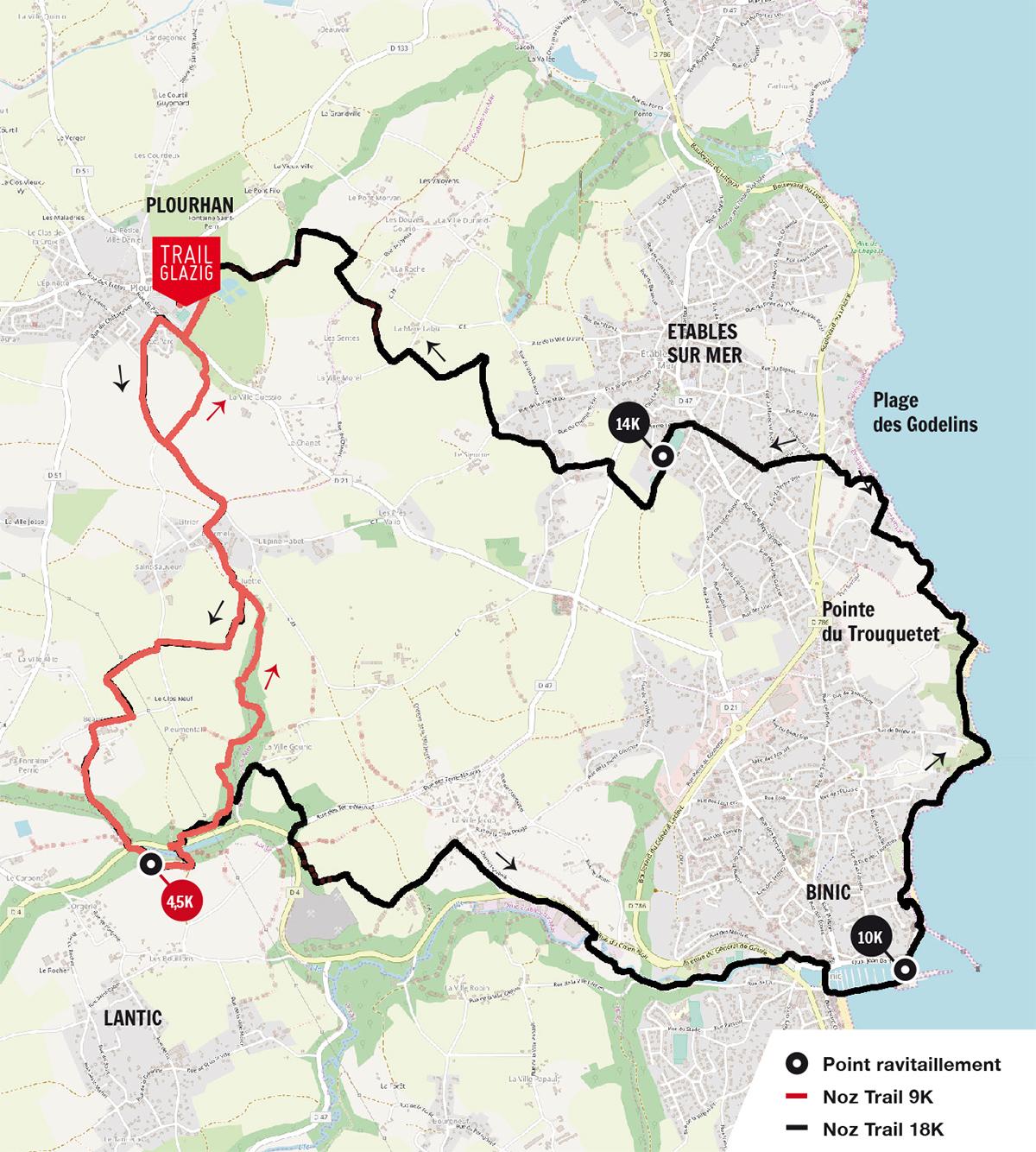 Ravito Noz Trail Glazig 2020